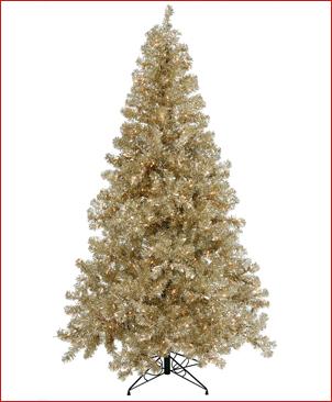 champagne christmas tree - Colored Christmas Tree