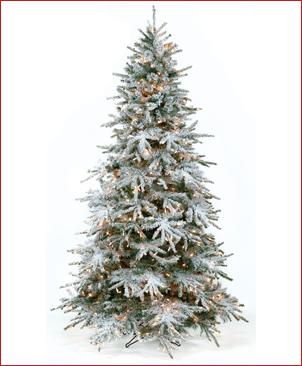 Flocking Christmas Trees Spray