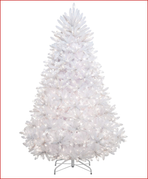 white christmas tree - Large Artificial Christmas Trees